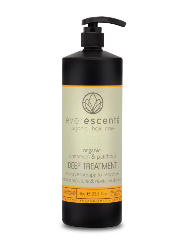 Everescents Cinnamon & Patchouli Organic Deep Treatment
