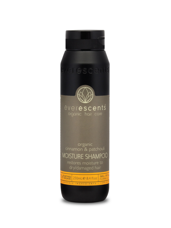Everescents Cinnamon & Patchouli Organic Shampoo