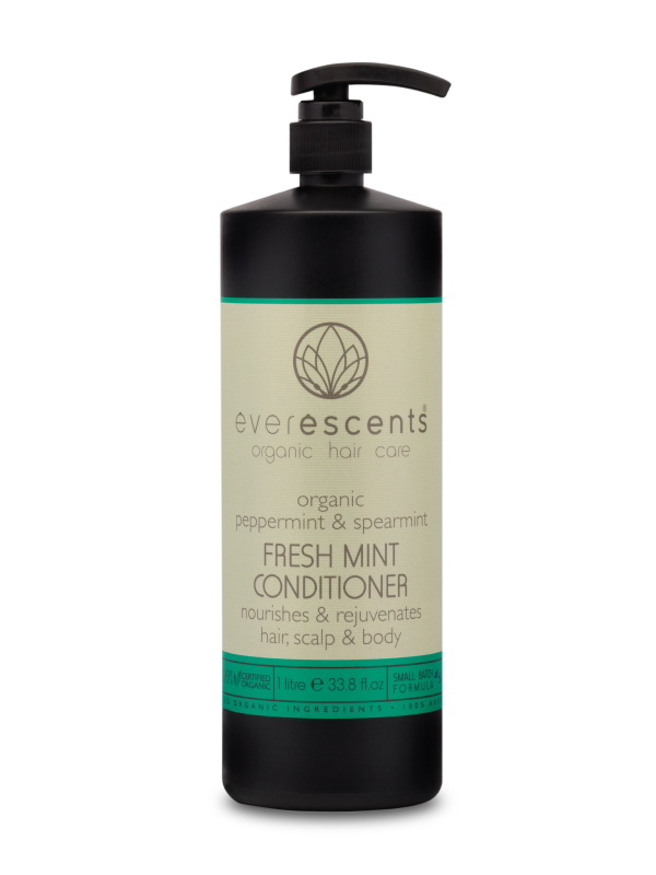 Everescents Fresh Mint Organic Deep Cleanse Conditioner